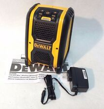DeWalt DCR006 NEW 12V/20V Cordless Jobsite Bluetooth Speaker DC/AC USB Port
