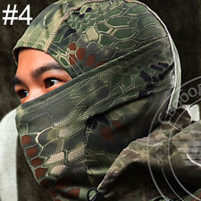 Airsoft Camouflage Balaclava Camo Full Face Cover Hood Mask Paintball Skirmish