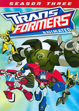 Transformers: Season 3,Good DVD, ,