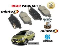 FOR SUZUKI SX4 S CROSS 1.6 + 1.6DT DDID 2013-  NEW REAR BRAKE PADS SET