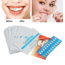 28 Strips Professional Home Teeth Whitening Strips Fresh White Dental Bleaching
