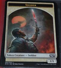 Soldier # 002/014 Creature Token 2015 Core Set Magic The Gathering MTG Cards M15
