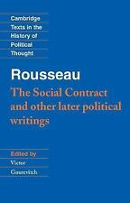 Cambridge Texts in the History of Political Thought: The Social Contract and...
