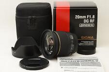 Sigma AF 20mm f/1.8 EX DG Aspherical RF for Sony Minolta  [Excellent]  (06-L64)