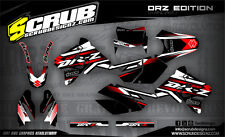 SCRUB Suzuki graphics decals kit DRz 400 1999 - 2016 stickers enduro '99-'16