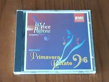 LA VOCE DEL PADRONE MAGAZINE - SAMPLER - PRIMAVERA ESTATE - CD
