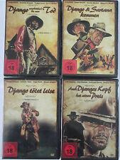 Sammlung - 4x Django Western FSK 18 - Sartana, bis zum Tod, jeder Kopf, Italien
