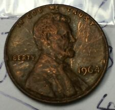 1964 U.S. 1 cent coin