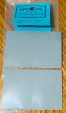 """Grandt Line #8030 (N Scale)Shingle Roofing Material 2 Sheets / 2""""x3"""" w/Crease"""