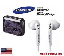 GENUINE SAMSUNG EO-EG920BW (BLACK BOX) HEADPHONE EARPHONE FOR GALAXY S7 VII EDGE