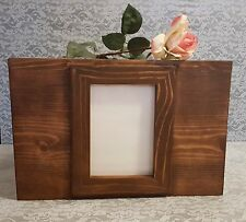 Wedding Picture Frame Card Box, Rustic Box , Wood Card Box,Can Be Personalized