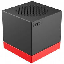 New Genuine HTC BoomBass Subwoofer NFC Bluetooth Speaker With Stand -Black/Red