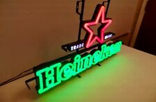 Heineken Trademark Neon Light 30 Inch Brand-New In Box