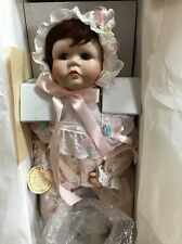 "VTG Duck House Real Baby 20"" Pocelain Doll #DH062P Signed by Holly Hunt"