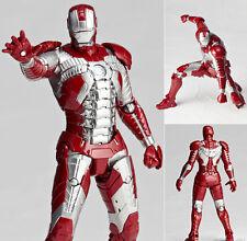 Kaiyodo Legacy of Revoltech LR-024 Iron Man Mark 5 MK V Figure IN STOCK Genuine