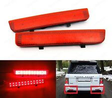 Red Bumper Reflector LED Tail Brake Stop Light L322 Range Rover LR2 Freelander 2