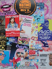 IBIZA 2013 - 2015 / 50 Party Flyer Package Pacha Amnesia Space Ushuaia... new !