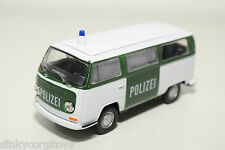 WELLY NEX VW VOLKSWAGEN TRANSPORTER T2 BUS VAN POLIZEI VERY NEAR MINT CONDITION