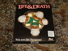 """Life & Death (PC, 1988) Rare Software Toolworks! 5.25"""" and 3.5"""" Disks *COMPLETE*"""