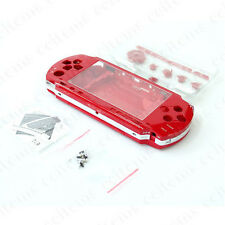 Full Housing Shell Case Cover Faceplate Set Repair Parts for PSP 1000 2000 3000