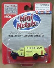 Mini Metals  Clasic Metal Works HO scale RTR Chevy Tank Truck Richfield Oil