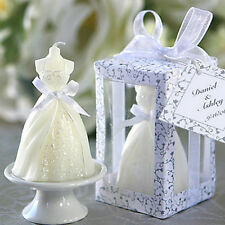 Exquisite Bridal Bride Shape Candle Wedding Party Favor Bridal Shower Boxed TY
