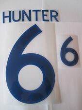 Hunter no 6 England Home Football Shirt Name Set Adult Sporting ID