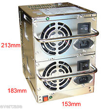 Big Redundant / Dual Power Supply Unit / AT PSU. 2x300W. Emacs RPU-5300F