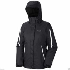 Columbia Women Winter Waterproof 3in1 jacket coat Size L New ski Black