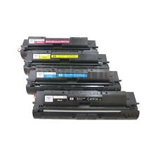 Color Toner Set C4191A, C4192A, C4193A, C4194A, Laser Jet 4500, 4550 Original HP