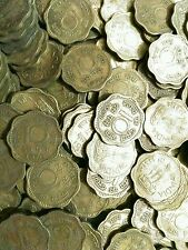 # REPUBLIC INDIA- 10 PAISA BRASS COIN # 100 COINS LOT #