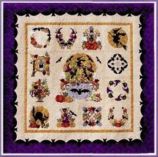 Baltimore Album Halloween Applique 13 Quilt Pattern BOM P3 Designs