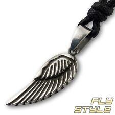 Engel Flügel Anhänger feder charm amulett angel wing gothic schwinge vintage bh