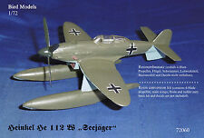 "Heinkel He 112 W ""Seejäger""  1/72 Bird Models Resinumbausatz / resin conversion"