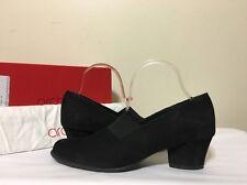 Arche Musoko Noir Black Suede Women's Heels Pumps Size 40 / US 9 M