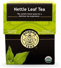 Nettle Leaf Tea, Buddha Teas, 18 tea bag 1 pack