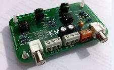 AUDIO VLF HIGH PASS FILTER WITH BALANCED OR UNBALANCED INPUT BY KMTECH DESIGN