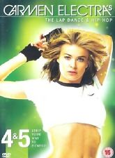 Carmen Electra Lap Dance And Hip Hop DVD Fitness Workout New UK Release R2