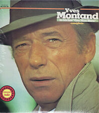 YVES MONTAND In his last One Man Show Double LP Vinyl Music Album EX Stereo 1974
