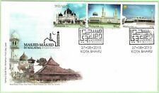 Malaysia 2015 Mosques in Malaysia ~ FDC