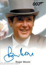 James Bond 007 Autograph & Relics 2013 Card Roger Moore as James Bond