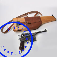 Replica C96 German Army Woode Holster Stock Mauser Broomhandle Butt
