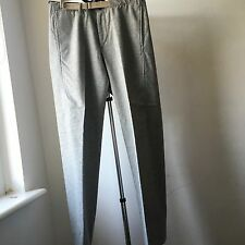 Very Cool JIL SANDER light grey straight cut trousers Sz IT 46