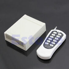 12V 12 Channel Relay RF 1000m Switch Remote Control Transmitter Receiver 315MHz