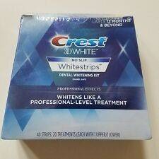 Crest 3D White Luxe Professional Effects 40 Strips 20 Treat Whitestrips