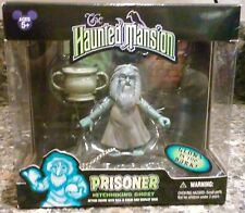HAUNTED MANSION PRISONER HITCHHIKING GHOST GLOWING ACTION FIGURE WITH BASE, MIB