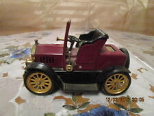 Blechauto Oldtimer 1917  Ford Coupe T Cabrio Made Japan L:17cm m. Feuerzeug