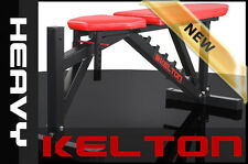 ~! KELTON HEAVY TRYTON HL9 Multi Adjustable WORKBENCH Bench GYM Barbell OLYMPIC