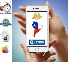 Premium Factory Unlock Service ENTEL Chile iPhone 5 5c 5s 6 6+ 6s 6s+ All IMEI