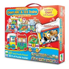 Puzzle Games For Toddlers Giant ABC 123 Train Floor Puzzles Learning Two 30 Pcs